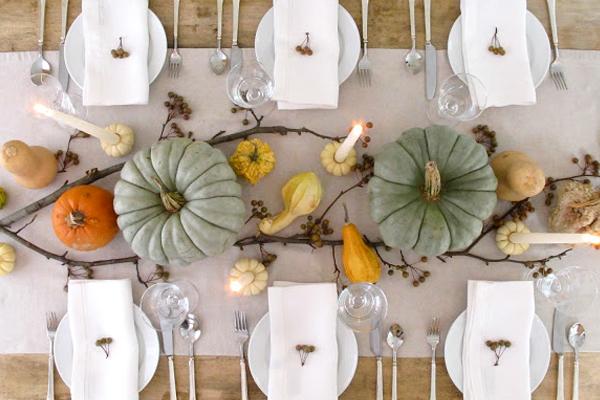 thanksgiving table top decor