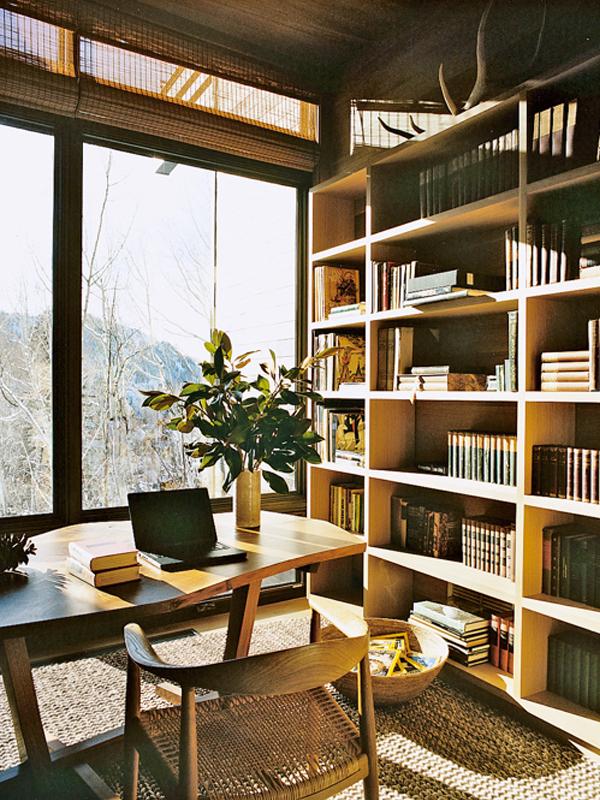 Aerin Lauder's Aspen Office