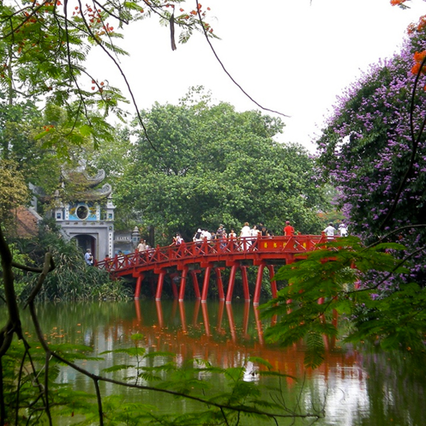 Lake in Hanoi