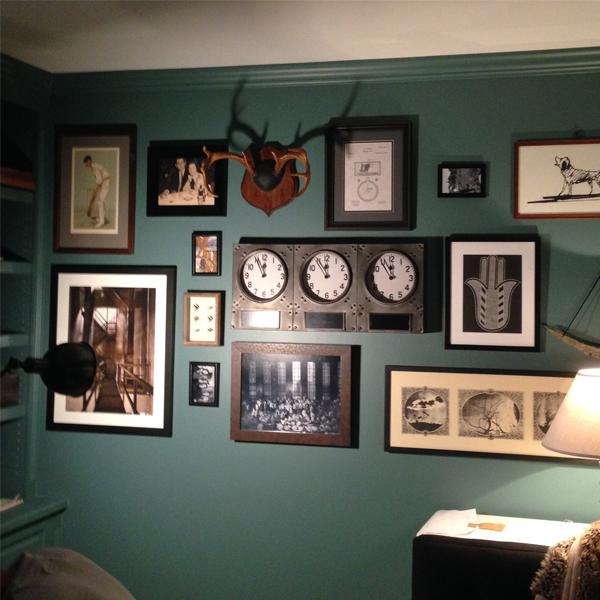 office gallery wall peek